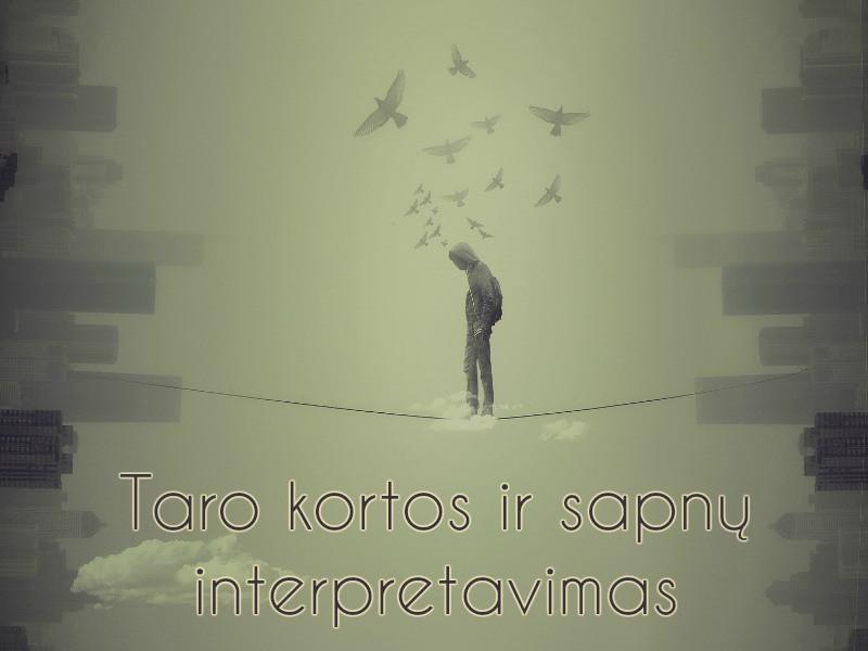 Taro kortos ir sapnų interpretavimas