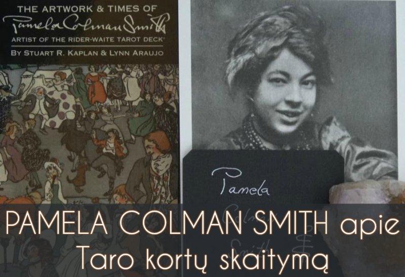 Pamela Colman Smith apie Taro kortų skaitymą