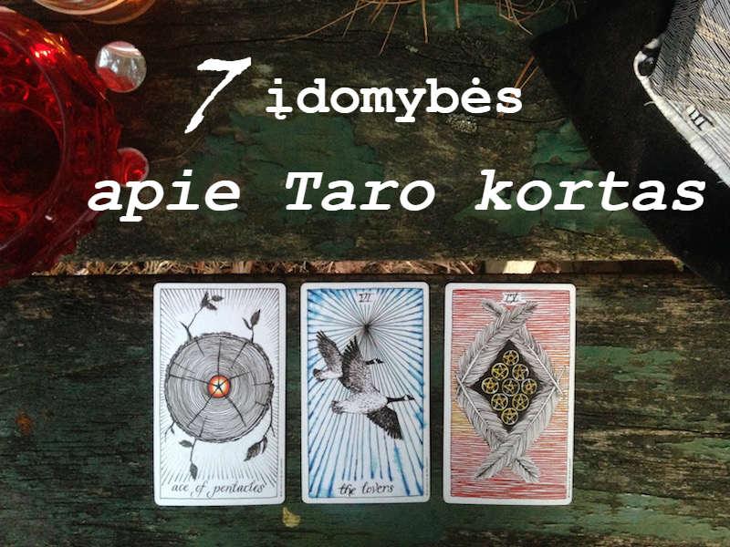 7 įdomybės apie Taro kortas