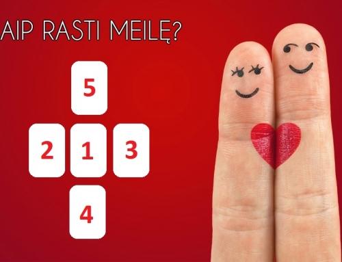 Taro kortų dėlionė: Kaip rasti meilę?