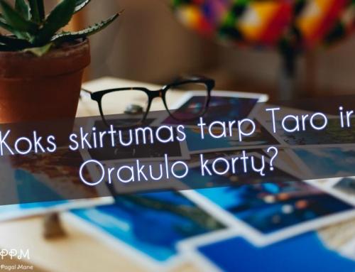 Koks skirtumas tarp Taro ir Orakulo kortų?