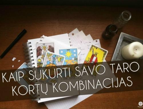 Kaip sukurti savo Taro kortų kombinacijas
