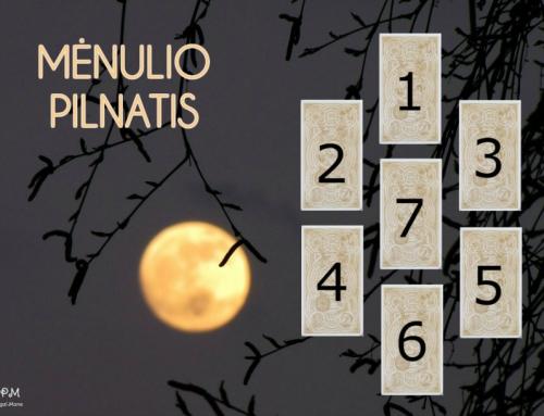 Mėnulio pilnatis (7 kortos)