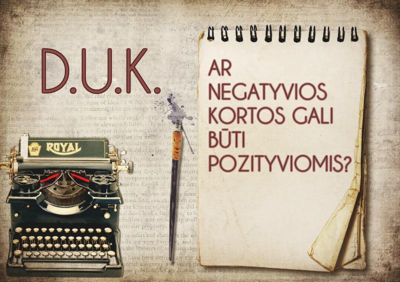 Ar negatyvios kortos gali būti pozityviomis?