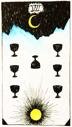 Taroskopai. Septynios taurės