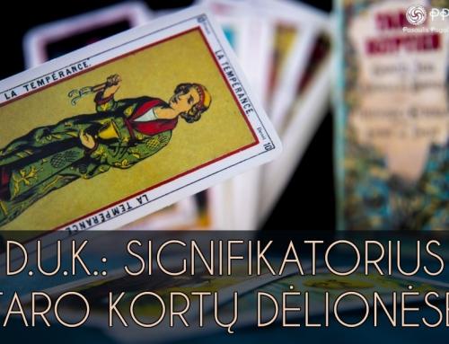 D.U.K.: Signifikatorius Taro kortų dėlionėse