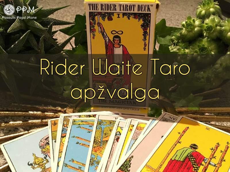 Rider Waite taro apžvalga