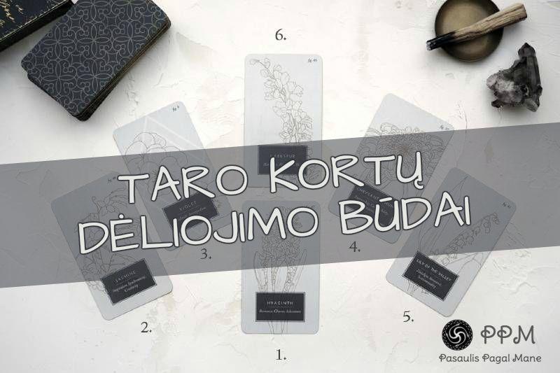 Taro kortų dėliojimo būdai