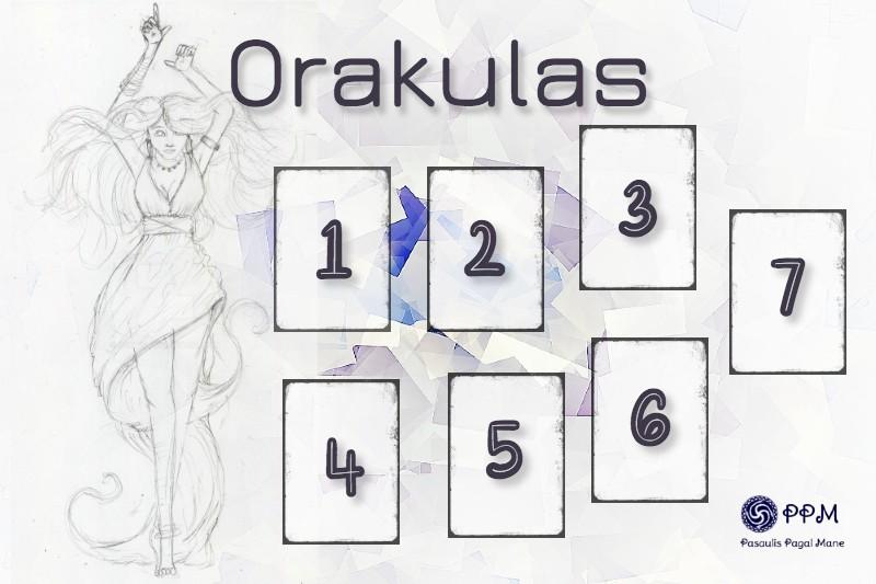 Taro kortų dėlionė Orakulas