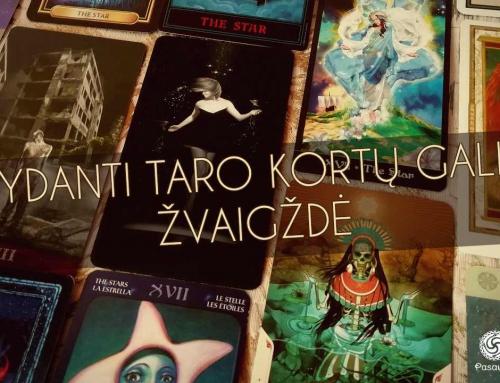 Gydanti Taro kortų galia: Žvaigždė
