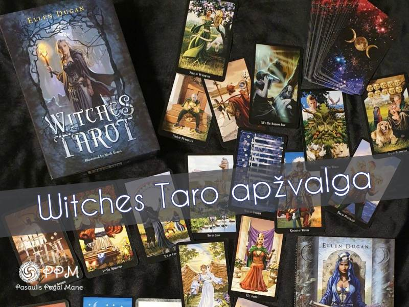 Witches taro kaladės apžvalga