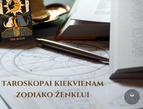 Taroskopai: 2021 metų balandis